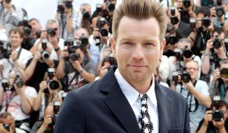 Scottish actor Ewan McGregor (Associated Press)
