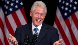 **FILE** Former President Bill Clinton (Associated Press)