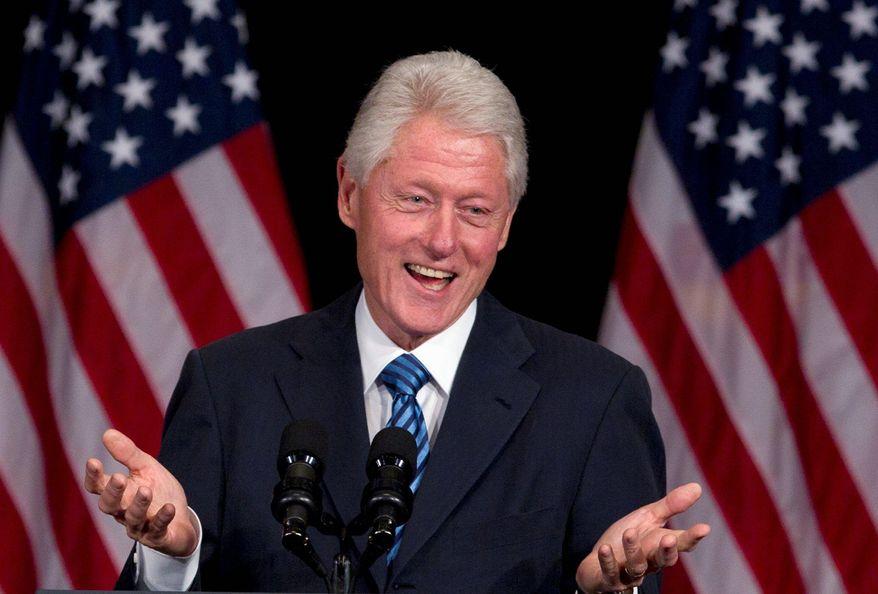 **FILE** Former President Bill Clinton (Associated Press)