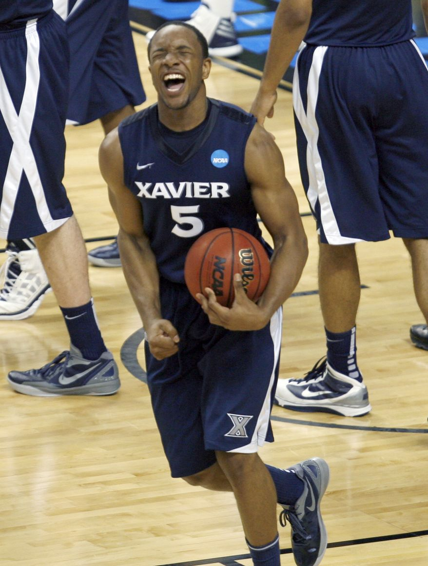 Xavier transfer Dez Wells on Wednesday was ruled eligible to play immediately at Maryland by the NCAA. (AP Photo/Zach Gibson)