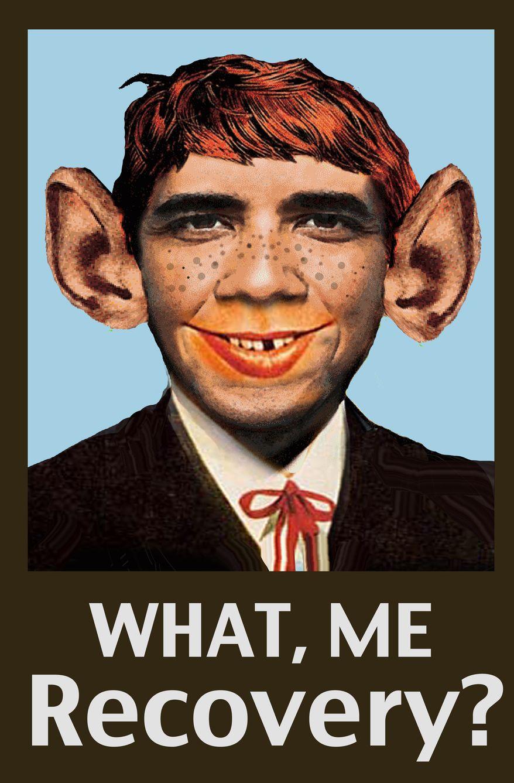 Illustration Mad Obama by John Camejo for The Washington Times