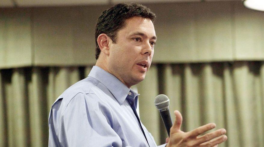**FILE** Rep. Jason Chaffetz, Utah Republican (Associated Press)