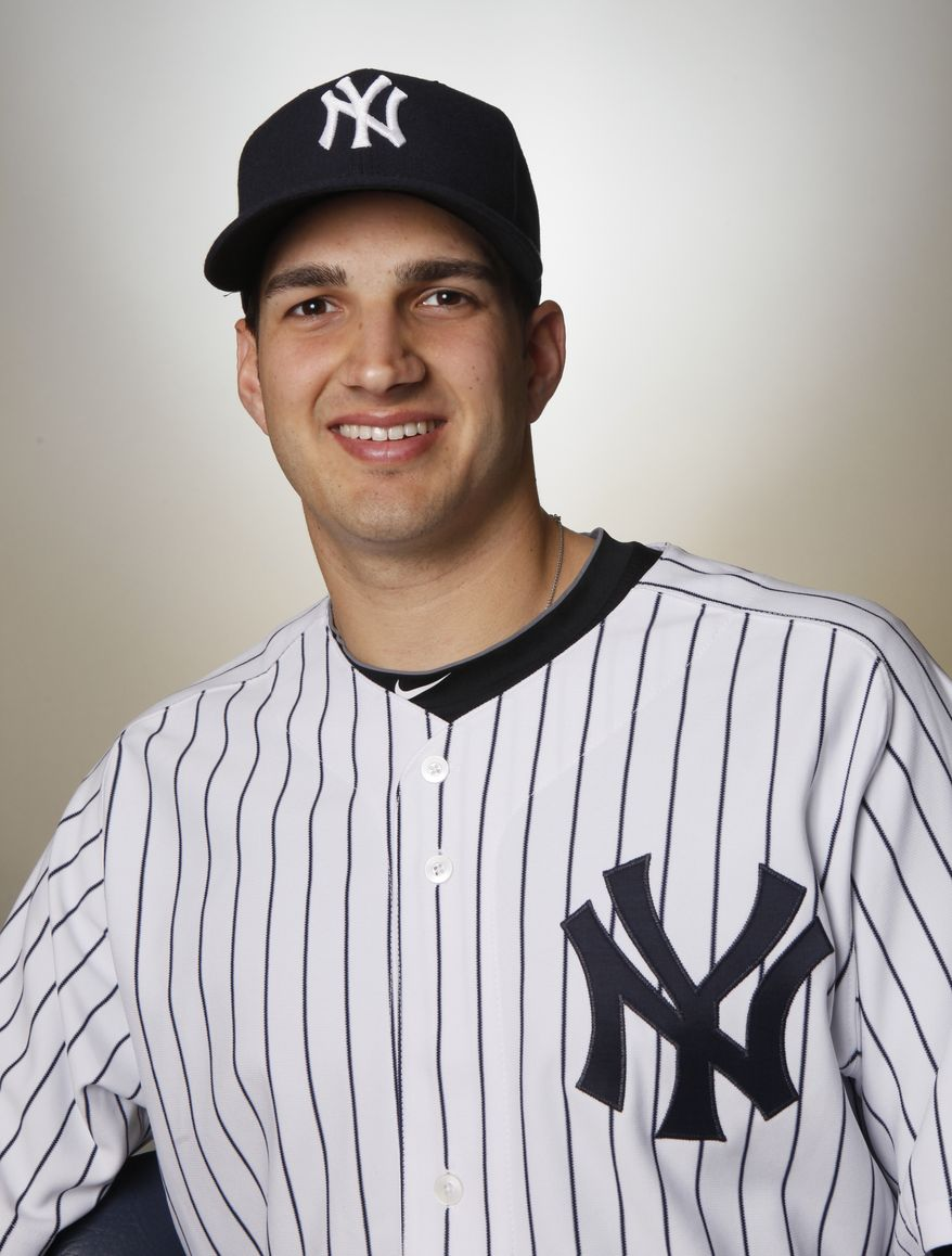 Christian Garcia was a drafted by the Yankees in the third round of the 2004 draft. (AP Photo/Kathy Willens)