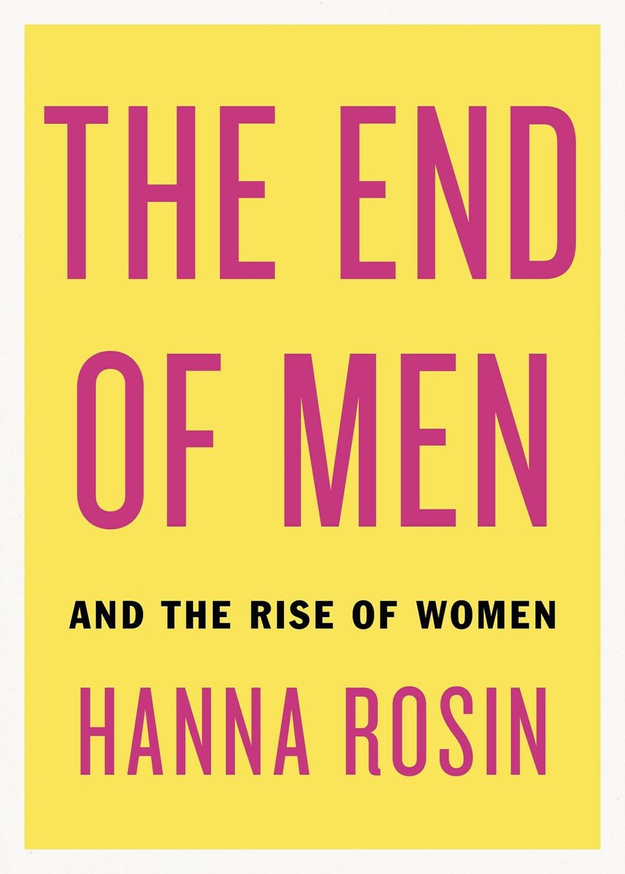 In the summer of 2010, writer Hanna Rosin unveiled a new world order: Men are no longer in charge. She has a book out now to buttress it. Rosin will talk more about the new world order with her husband and boss, Slate's David Plotz. September 11 at Sixth & I Historic Synagogue.