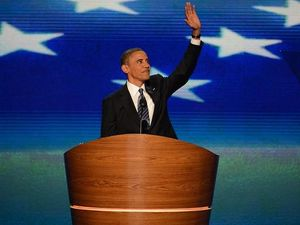 Obama accepts nomination for second term