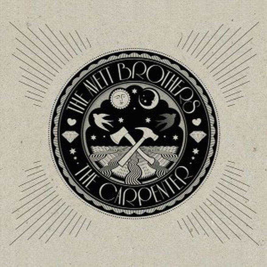 """Album cover for Avett Brothers """"The Carpenter""""."""