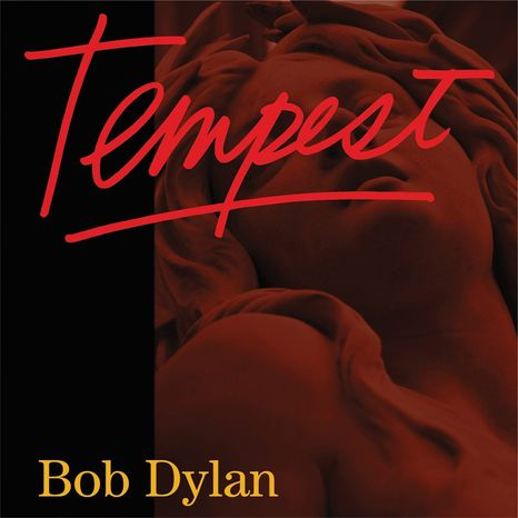 "This CD cover image released by Columbia Records shows the latest release by Bob Dylan, ""Tempest."" (AP Photo/Columbia)"