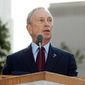 New York Mayor Michael Bloomberg (AP Photo/Allan Tannenbaum, Pool)