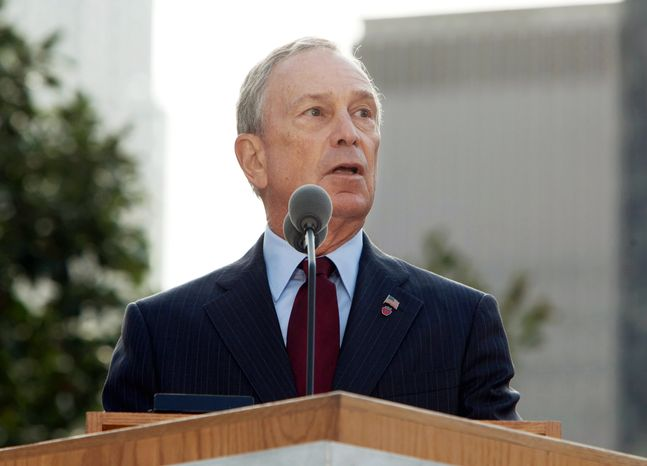 New York Mayor Michael Bloomberg (AP Photo/Allan Tannenbaum, Pool)