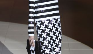 The Marc Jacobs Spring 2013 collection is modeled Sept. 10, 2012, during Fashion Week in New York. (Associated Press)