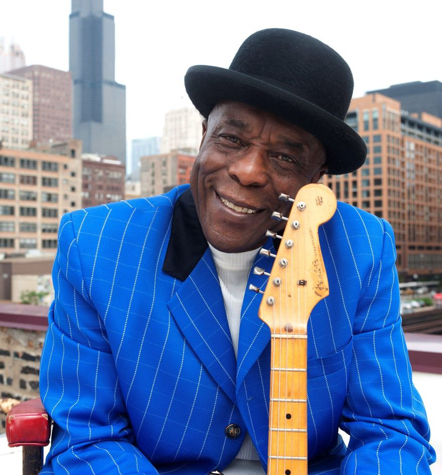 This undated handout photo provided by the Kennedy Center shows Buddy Guy in Chicago. (AP Photo/Kennedy Center)