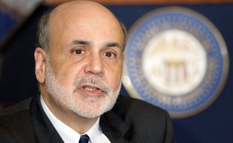 Fed Chairman Ben S. Bernanke spotlighted chronic high unemployment in a speech in Jackson Hole, Wyo., late last month. Mr. Bernanke argued that unorthodox Fed actions have helped ease borrowing costs and boosted stock prices. (Associated Press)