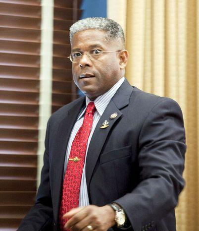Former Rep. Allen B. West, Florida Republican (Associated Press)