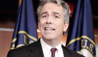 **FILE** Former Rep. Joe Walsh, Illinois Republican (Associated Press)