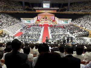 Rev. Moon's funeral, Part 1