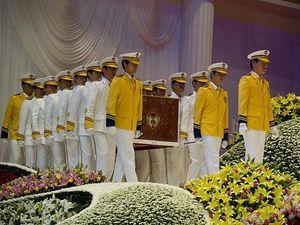 Rev. Moon's funeral, Part 2