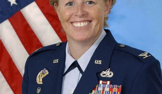 Col. Deborah Liddick will lead the Air Force's basic-training unit at Lackland Air Force Base in San Antonio, where dozens of female recruits have alleged they were sexually assaulted or harassed by male instructors within the past year. (AP Photo/U.S. Air Force)
