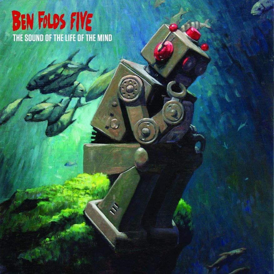 """Album cover for Ben Folds Five """"The Sound of the Life of the Mind""""."""
