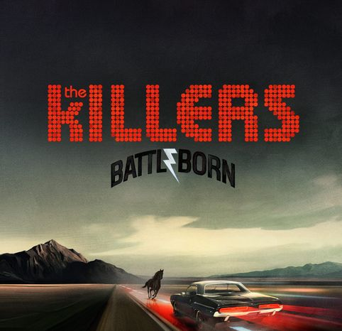 "Cover art for The Killers' ""Battle Born"""