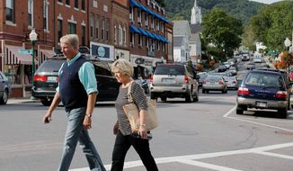 Camden, Maine, has become a popular destination for retirees despite its cooler climate as many retirees stray from moving to Arizona or Florida. The picturesque harbor town has more people in their 60s than in their 20s and 30s combined. (Associated Press)
