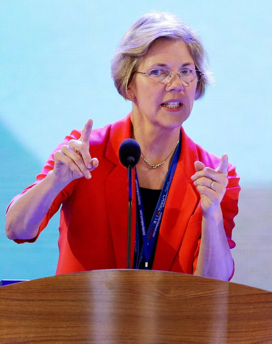 A Public Policy Poll finds Democrat Elizabeth Warren leading Sen. Scott P. Brown 48 percent to 46 percent for the U.S. Senate seat in Massachusetts held by the Republican. (Associated Press)