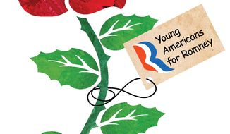 Illustration Youth Vote by Greg Groesch for The Washington Times