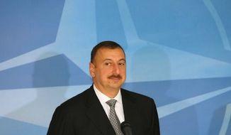 **FILE** Azerbaijani President Ilham Aliyev (www.president.az)