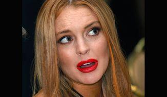 Lindsay Lohan (AP photo)