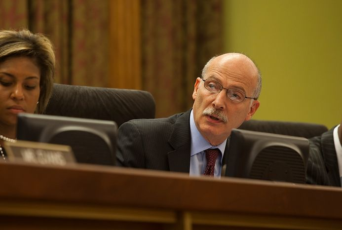 D.C. Council Chairman Phil Mendelson (Craig Bisacre/The Washington Times)