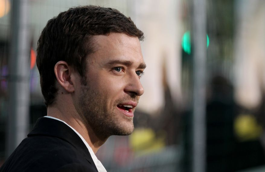 "Cast member Justin Timberlake attends the premiere of ""Trouble With the Curve"" on Sept. 19, 2012, at the Westwood Village Theater in Los Angeles. (Matt Sayles/Invision/Associated Press)"
