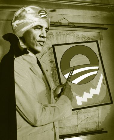 Illustration Count Obama by John Camejo for The Washington Times
