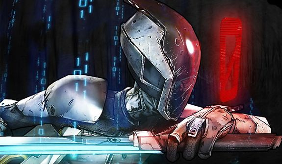 Control Zer0 the assassin in the video game Borderlands 2.