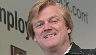 OverStock.com CEO Patrick Byrne argues that it would be expensive and unfair for online retailers to collect taxes for all the places where they sell. (Associated Press)
