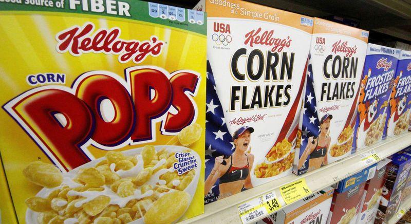 ** FILE ** Kellogg's cereals. (Associated Press)