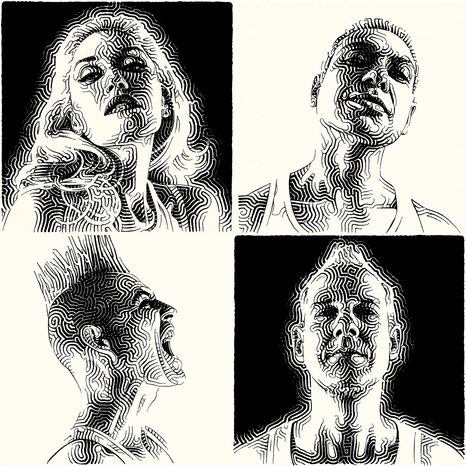 "Cover art for No Doubt's ""Push and Shove"" (Associated Press/Interscope)"