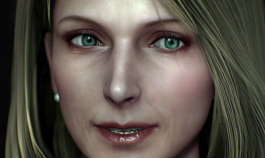 Viewers enjoy some incredible character detail in the animated horror film Resident Evil: Damnation.