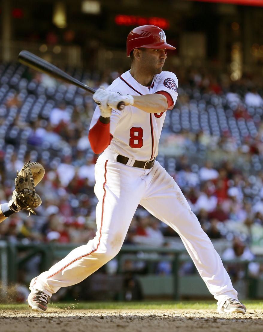 Nationals second baseman Danny Espinosa. (Associated Press)