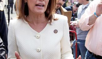 **FILE** Rep. Michele Bachmann, Minnesota Republican (Associated Press)