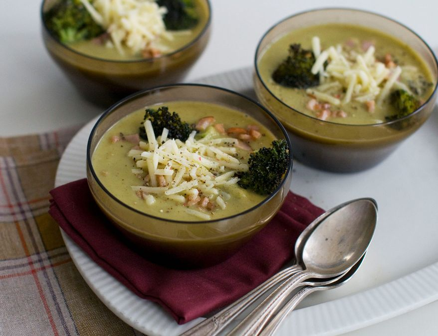 Fill autumn dinner bowls with the goodness of creamy fresh vegetables. (Associated Press)