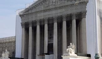 The U.S. Supreme Court building in Washington (Associated Press)