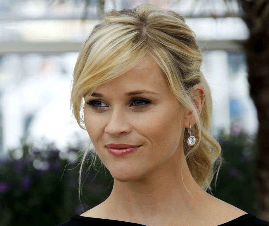 Actress Reese Witherspoon is pictured during the 65th Cannes International Film Festival in Cannes, France, on Saturday, May 26, 2012. (AP Photo/Joel Ryan)