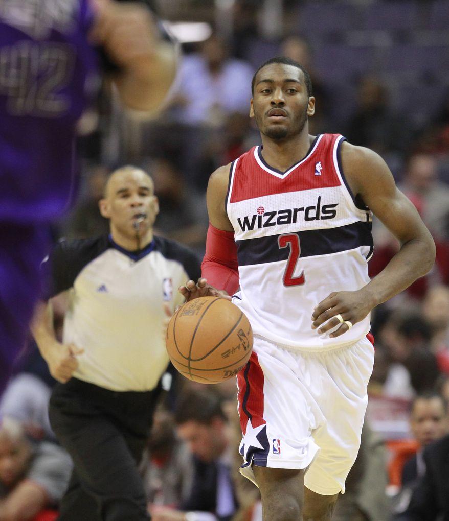 **FILE** Washington Wizards point guard John Wall (Associated Press)