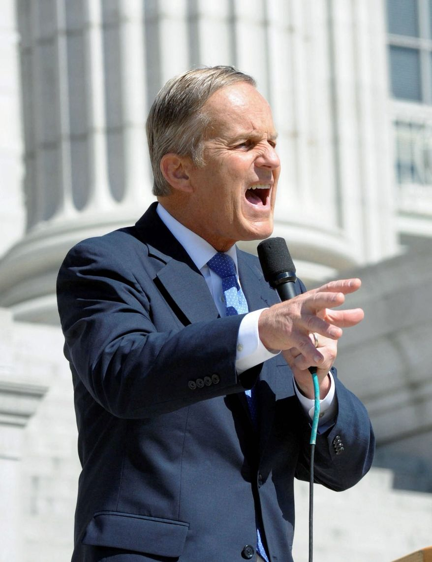 Rep. W. Todd Akin brought home federal dollars for projects in his district but is now an ally of an anti-earmark group, opening himself up to criticism that he has switched to get a campaign donation from the group for his Senate race. (The Jefferson City News-Tribune via Associated Press)
