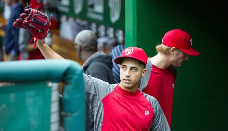 Nationals left-hander Gio Gonzalez is in the NL Cy Young conversation after winning 21 games in his first season with Washington. (Andrew Harnik/The Washington Times)