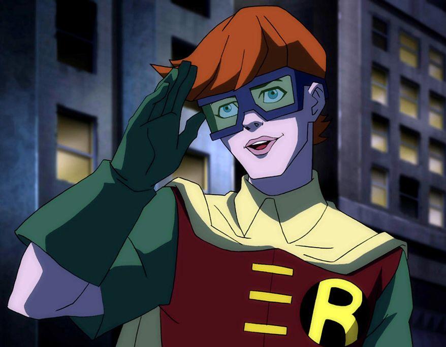 Carrie Kelly is Robin in Batman: The Dark Knight Returns, Part 1.