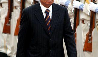 **FILE** Uzbek President Islam Karimov (Associated Press)