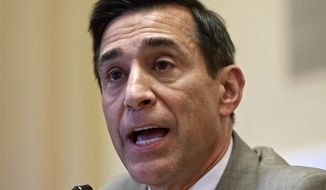 ** FILE ** Rep. Darrell E. Issa, California Republican and House Oversight and Government Reform Committee chairman,  speaks on Capitol Hill in Washington on Wednesday, June 27, 2012. (AP Photo/J. Scott Applewhite)
