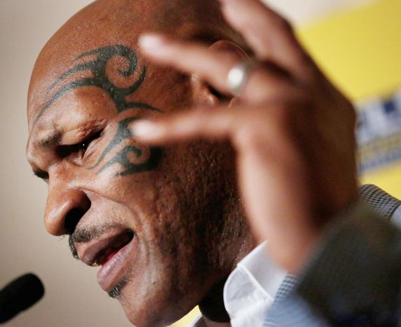 Mike Tyson has been denied entry to the country whose indigenous Maori people, he says, inspired his facial tattoo. New Zealand authorities Wednesday cited his 1992 rape conviction as the reason. (Associated Press)