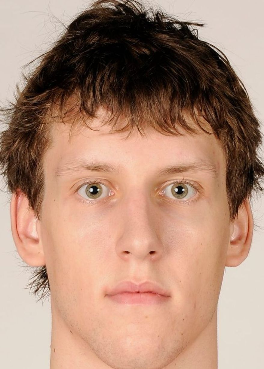 Wizards forward Jan Vesely averaged 4.7 points and 4.4 rebounds as a rookie. (Associated Press)