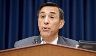 """""""We have known for some time that weapons brought to Mexico from Operation Fast and Furious would contribute to significant death and carnage,"""" Rep. Darrell E. Issa said Wednesday. """"Univision's new findings add details and faces to what occurred as a result of a reckless initiative, mismanagement and lack of leadership within the U.S. Justice Department."""" (Associated Press)"""